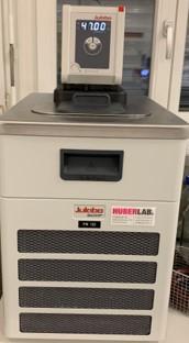 Wasserbad Julabo 600F mit Thermostat