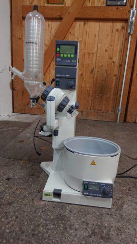Rotovap Büchi R-200 inkl. Vakuumkontroller V800