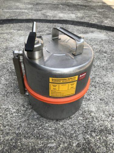 Schmidlin / Sicherheits-Behälter aus Edelstahl 10L